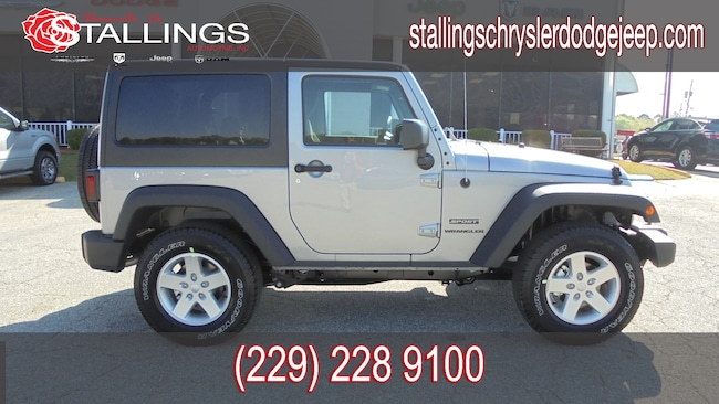 Used 2017 Jeep Wrangler JK Sport 4x4 SUV for sale in Cairo, GA at Stallings Motors