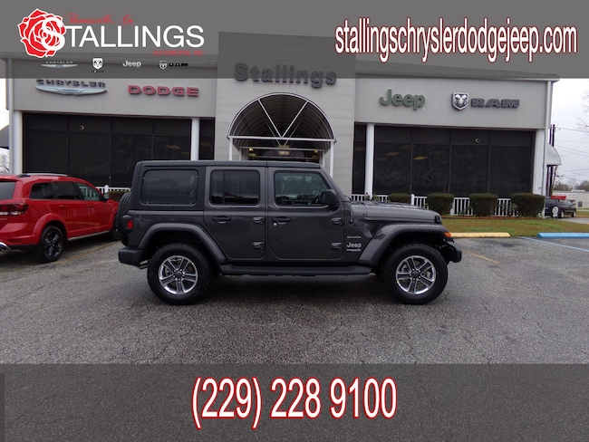 New 2019 Jeep Wrangler UNLIMITED SAHARA 4X4 Sport Utility in Thomasville, GA