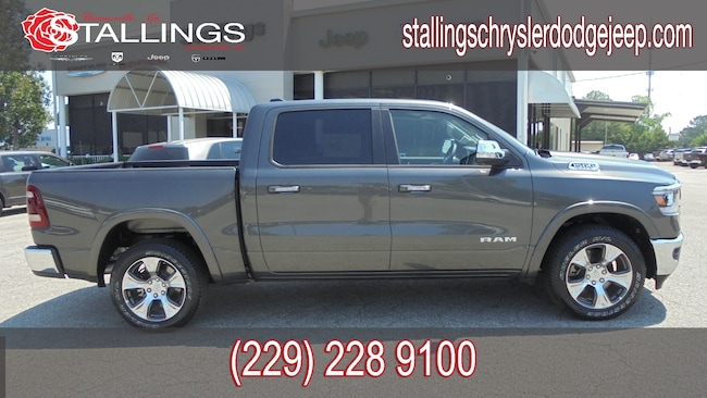 New 2019 Ram 1500 LARAMIE CREW CAB 4X2 5'7 BOX Crew Cab for sale in Cairo, GA at Stallings Motors