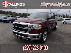2019 Ram 1500 BIG HORN / LONE STAR CREW CAB 4X2 5'7 BOX Crew Cab for sale in Cairo, GA at Stallings Motors