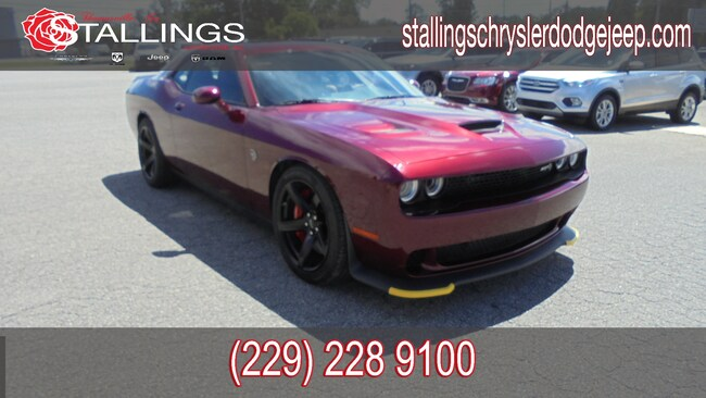 New 2018 Dodge Challenger SRT HELLCAT Coupe for sale in Cairo, GA at Stallings Motors