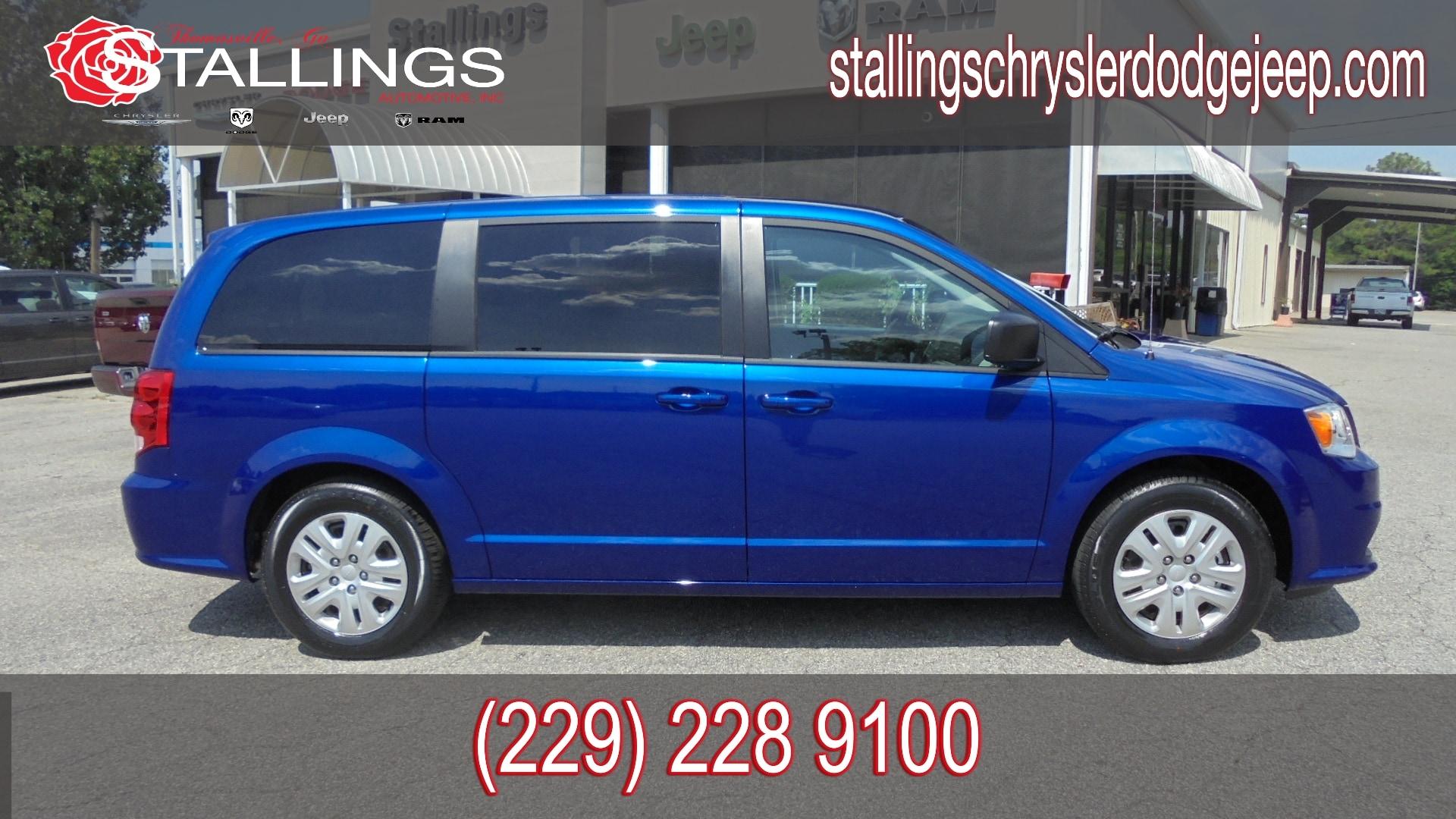 2018 Dodge Grand Caravan Passenger Van