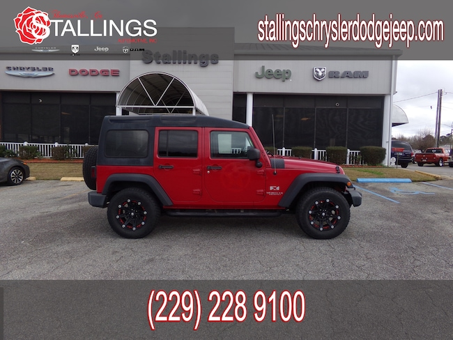 Used 2008 Jeep Wrangler Unlimited X SUV in Thomasville, GA