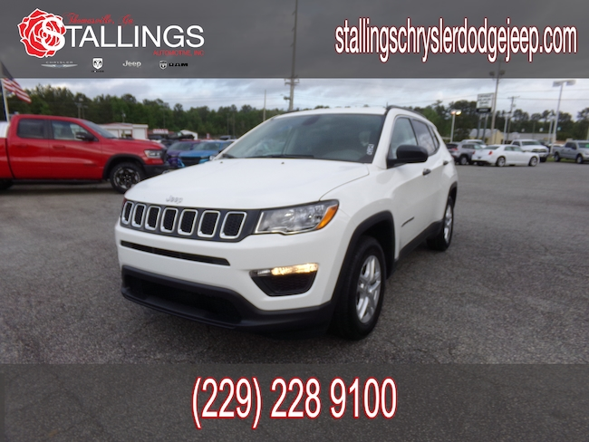 New 2019 Jeep Compass SPORT FWD Sport Utility in Thomasville, GA