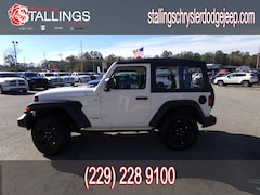 2019 Jeep Wrangler SPORT 4X4 Sport Utility for sale in Cairo, GA at Stallings Motors