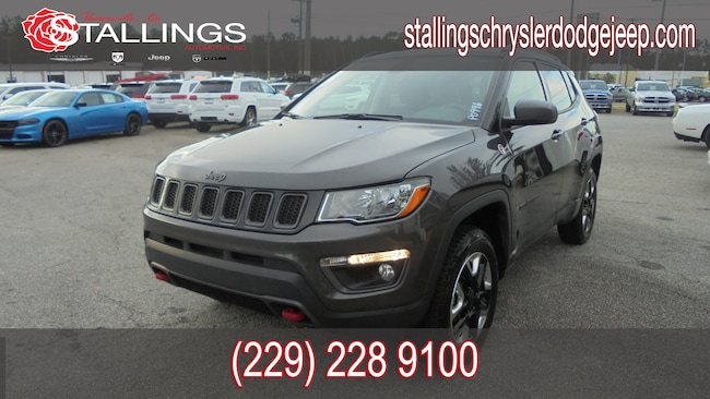Certified Pre-Owned 2018 Jeep Compass Trailhawk 4x4 SUV in Thomasville, GA