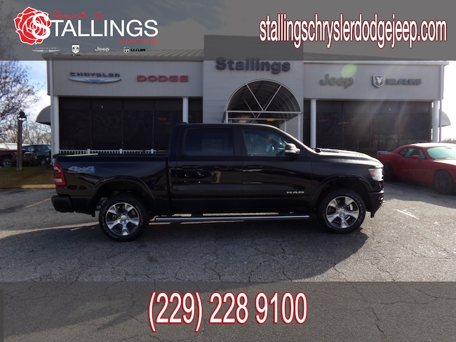 New 2019 Ram 1500 LARAMIE CREW CAB 4X4 5'7 BOX Crew Cab in Thomasville, GA
