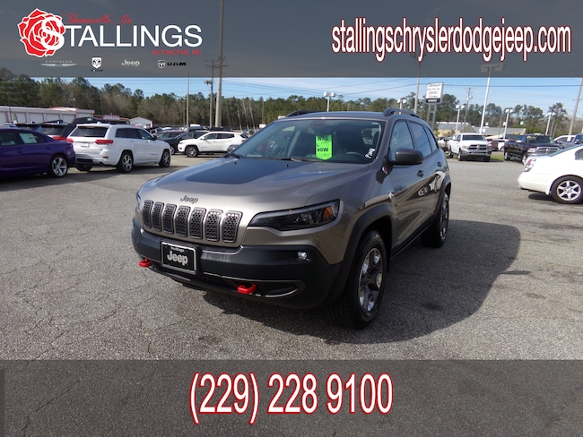 Certified Pre-Owned 2019 Jeep Cherokee Trailhawk 4x4 SUV in Thomasville, GA