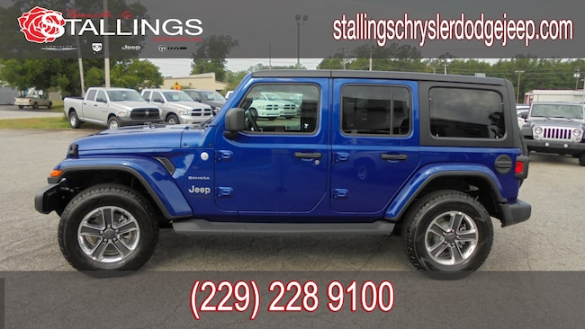 New 2018 Jeep Wrangler UNLIMITED SAHARA 4X4 Sport Utility in Thomasville, GA