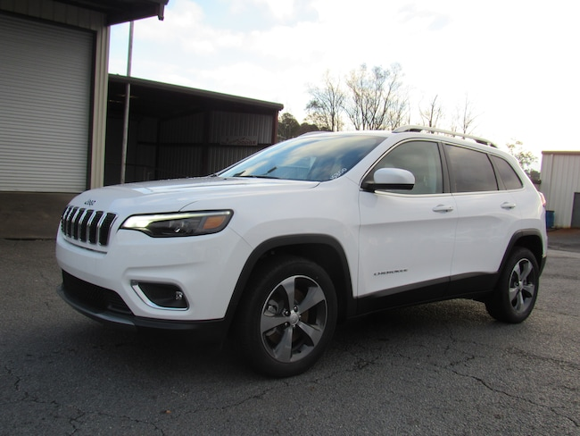 New 2019 Jeep Cherokee LIMITED FWD Sport Utility for sale in Cairo, GA at Stallings Motors