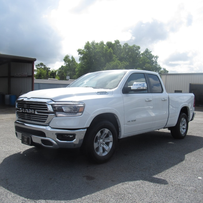 New 2019 Ram 1500 LARAMIE QUAD CAB 4X2 6'4 BOX Quad Cab for sale in Cairo, GA at Stallings Motors