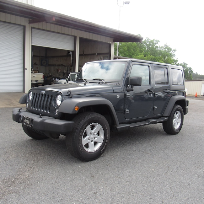 used 2016 jeep wrangler jk unlimited sport 4x4 for sale in cairo ga vin 1c4bjwdg2gl271845. Black Bedroom Furniture Sets. Home Design Ideas