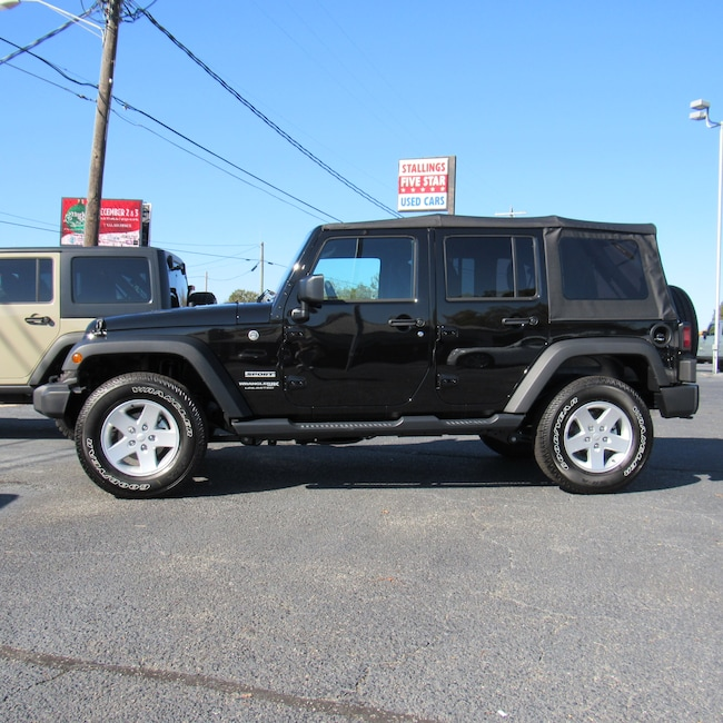 New 2018 Jeep Wrangler Unlimited WRANGLER JK UNLIMITED SPORT S 4X4 Sport Utility for sale in Cairo, GA at Stallings Motors