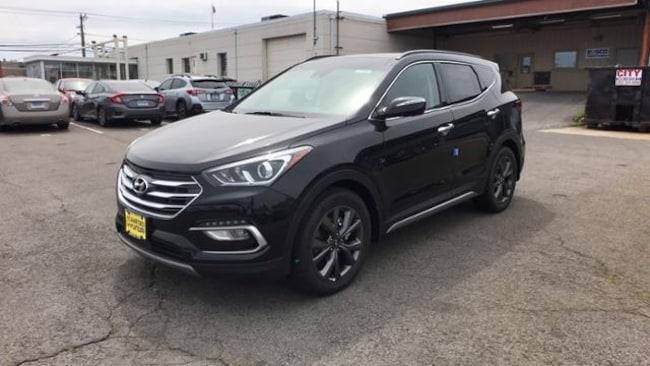 New 2018 Hyundai Santa Fe Sport 2.0L Turbo Ultimate SUV in Stamford, CT