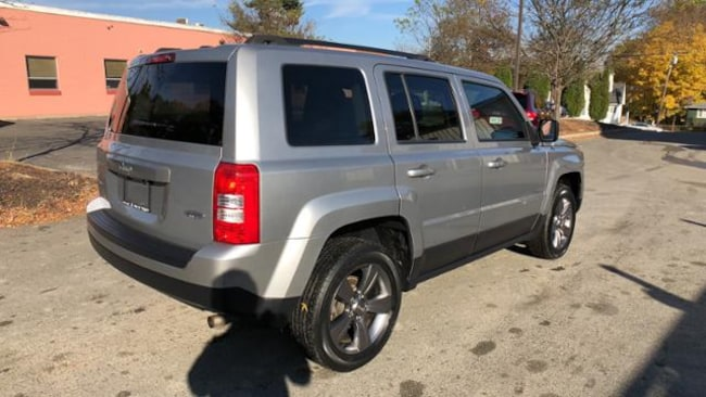 Used 2015 Jeep Patriot SUV Billet Silver For Sale in