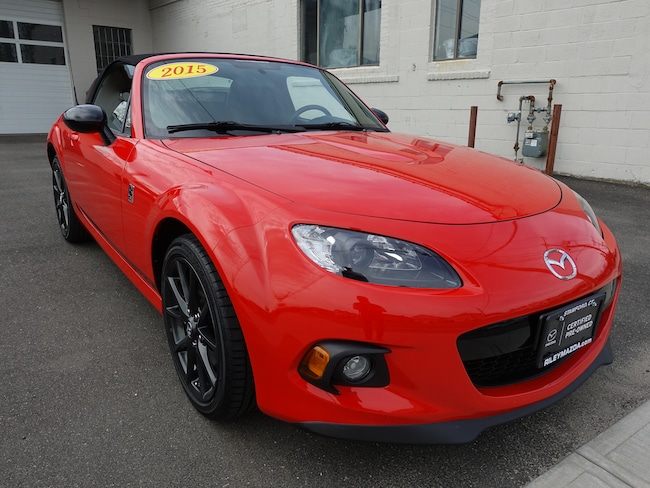 2015 Mazda Mazda MX-5 Miata Club Convertible