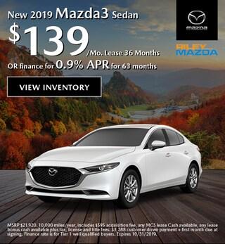 2019 - Oct Mazda3
