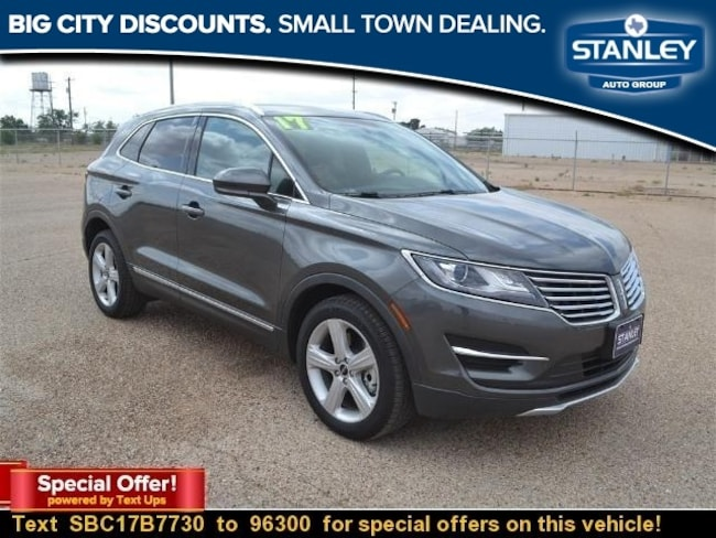 Used 2017 Lincoln Mkc For Sale At Stanley Lincoln Brownfield Vin
