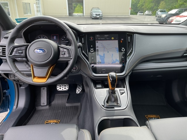 Full dash of the interior of the 2022 Subaru Outback Wilderness edition