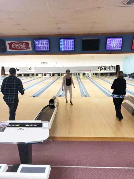 Stanley Subaru crew bowling