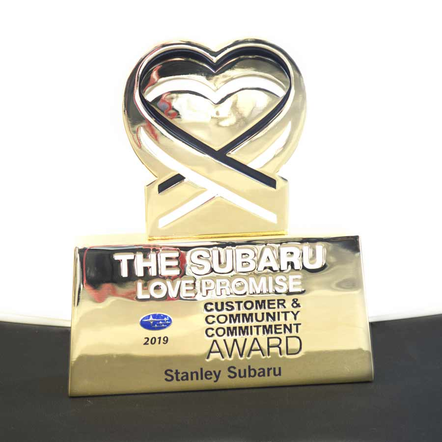 Subaru Love Promise Customer and Community Commitment Award
