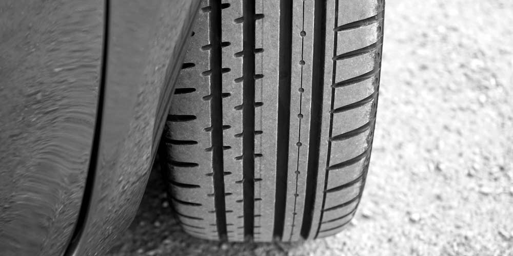 tire close up