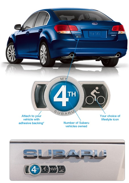 How Do I Get A Subaru Badge Of Ownership What Is A Badge Of