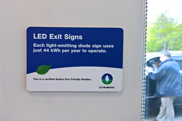 Eco-friendly placards