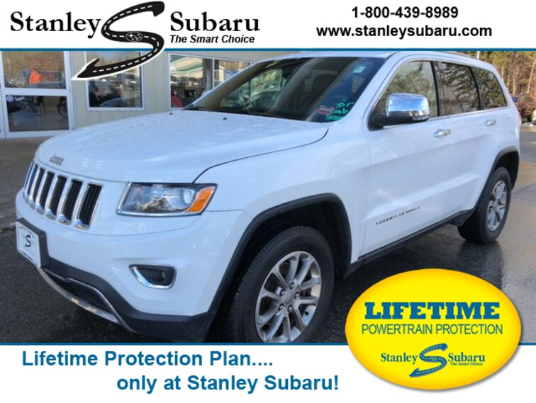 Used 2015 Jeep Grand Cherokee Limited 4x4 SUV in Ellsworth, ME