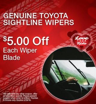 Genuine Toyota Sightline Wipers