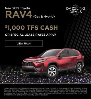 New 2019 Toyota Rav4 (Gas & Hybrid)