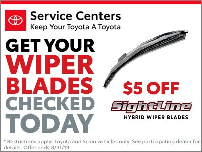 $5 off Sightline Wipers