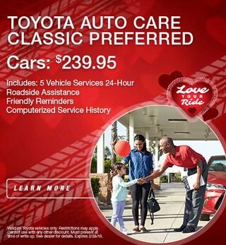 Toyota Auto Care Cars