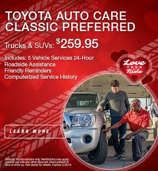 Toyota Auto Care Trucks & SUVs