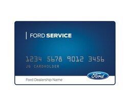 Ford Service Credit Card Rebate