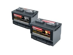 Motorcraft® Tested Tough® Plus and Max Batteries
