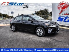 New 2020 Hyundai Ioniq Hybrid Blue Hatchback For Sale in Abilene, TX