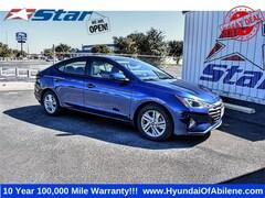 New 2020 Hyundai Elantra Value Edition Sedan For Sale in Abilene, TX