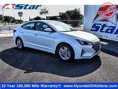New 2020 Hyundai Elantra SEL Sedan For Sale in Abilene, TX