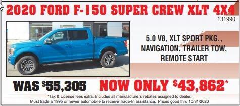 2020 Ford F-150 XLT Supercrew 4x4