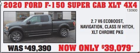 2020 Ford F-150 Super Cab XLT 4X4
