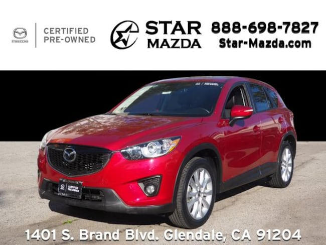 Certified Used 2015 Mazda CX-5 Grand Touring SUV in Glendale, CA