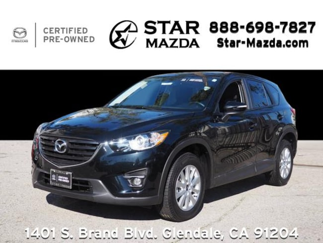 Certified Used 2016 Mazda CX-5 Touring SUV in Glendale, CA