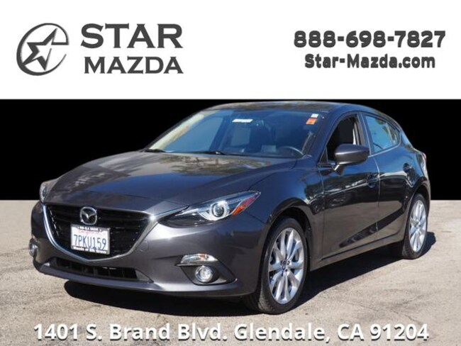 Certified Used 2015 Mazda Mazda3 s Grand Touring Hatchback in Glendale, CA