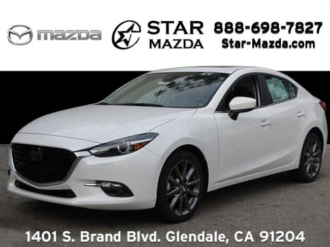 New 2018 Mazda Mazda3 Grand Touring Sedan in Glendale, CA