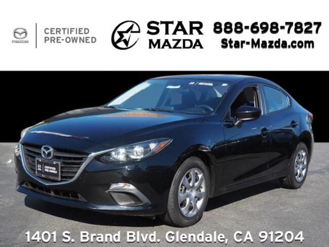 Certified Used 2016 Mazda Mazda3 i Sedan in Glendale, CA