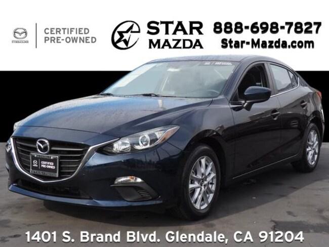 Certified Used 2016 Mazda Mazda3 i Sport Sedan in Glendale, CA