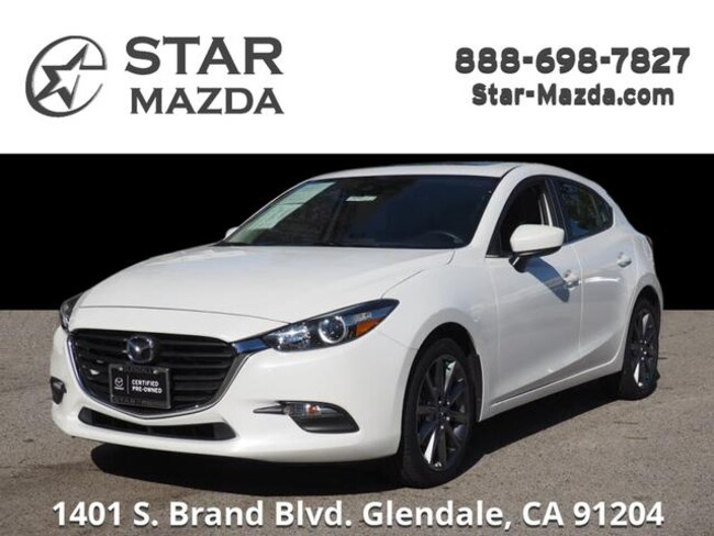 Certified Used 2018 Mazda Mazda3 Touring Hatchback in Glendale, CA