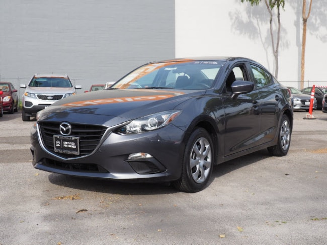 Certified Used 2016 Mazda Mazda3 i Sedan in Glendale, CA