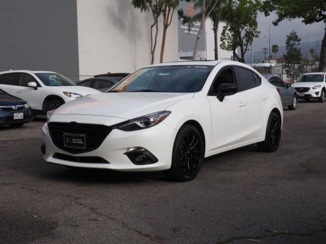 Certified Used 2016 Mazda Mazda3 s Grand Touring Sedan in Glendale, CA